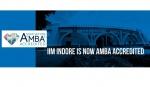 IIM Indore Gets AMBA Accreditation