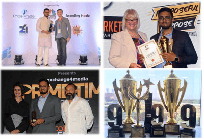 IIM Indore Alumni Receive Awards for Branding in Top Reality Shows