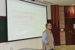 Lecture on Economics of Corruption Held at IIM Indore