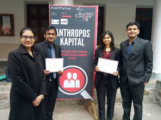 IPM Students Shine at SRCC Business Conclave 2018