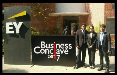IPM Students Win EY Business Conclave