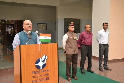 IIM Indore Celebrates 71st Independence Day