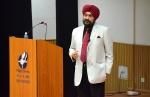 General Bikram Singh, Former Chief, Army Staff of Indian Army Visits IIM Indore