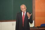 Lt. General S.L. Narasimhan Delivers a Guest Talk at IIM Indore