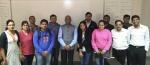 Mr. G. Jagannathan, CEO, Transconn International Visits IIM Indore