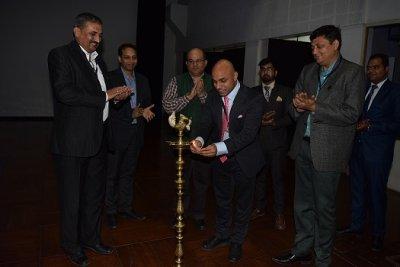 Mr. Sanjeev Sinha Visits IIM Indore