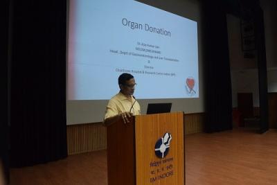 Organ Transplant Workshop Held at IIM Indore