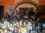 Pragat-I Distributes School Bags and Sweaters to Adopted Schools