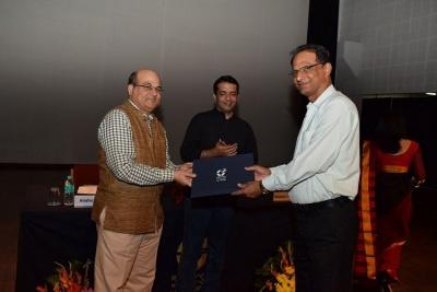 Prof. PK Singh, Felicitation, 10 years service