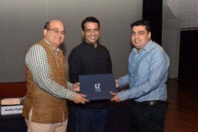 Prof. Prashant Salwan, Felicitation, 10 years Service