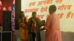 Gaurav Award and Adarsh Vidya Saraswati Rashtriya Puraskar Conferred on Professor V.K. Gupta