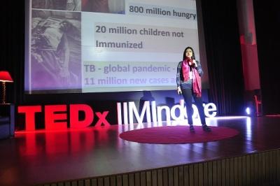 Report on TedX IIMI2017-1