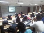 Skype Session with Ms. Vinie Alex, Head, IBC, TOI