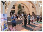 IIM Indore celebrates International Yoga Day