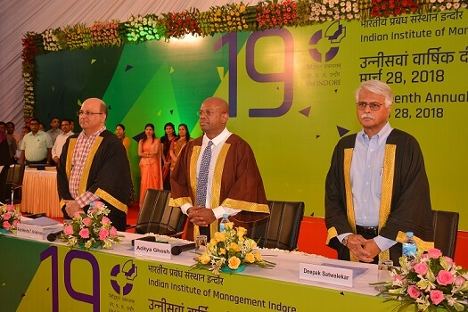 IIM Indore Celebrates 19th Annual Convocation