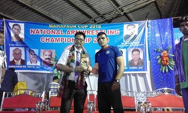 Amar Singh Arm Wrestling