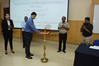 Inauguration of Sixteenth Batch of Certificate Course in Business Management for Defence Officers (CCBMDO) at IIM Indore
