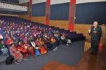 Students from Maharani Radhabai H.S. School, Dewas Visit IIM Indore
