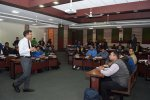 Guest Talk on Changing Face of Public Administration in India Held