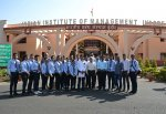 Students from Govind Tribal University Visit IIM Indore