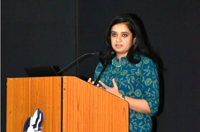 Guest Talk by Ms. Aditi Garg at IIM Indore
