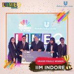 IIM Indore's Team Wins HUL LIME Season 9