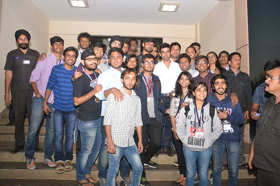 IIMI Students with Mr. Gambhir-Ranbhoomi