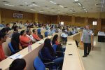 Mr. Sankaran Venkatramani, ED- Management Consulting, KPMG Visits IIM Indore