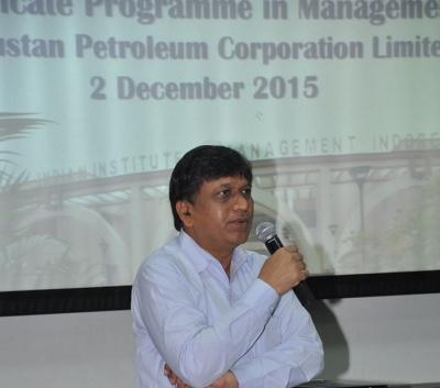 Mr Pushp HPCL Kumar Joshi