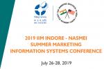 1 Industry Meet, 3 Workshops, 13+ Tracks, 390+ Paper Presentations: IIM Indore NASMEI 2019 Summer Marketing & Information Systems Conference Begins at IIM Indore