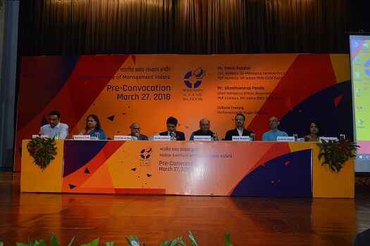 Pre-Convocation 2018 Held at IIM Indore
