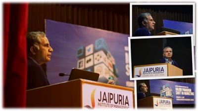Prof. Rajendra Nargundkar KeyNote at Jaipuria2