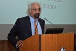 Dr. Sam Pitroda Delivers a Guest Talk at IIM Indore