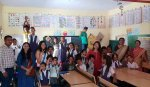 IIM Indore Distributes Stationary to Adopted School Students