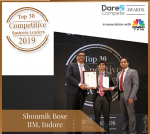 Shoumik Bose Secures Position Among Top 30 Competitive of Business Leaders of India 2019