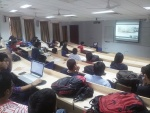 Ms. Vinie Alex, Head, IBC, Times of India Interacts with IPM Students Via Skype