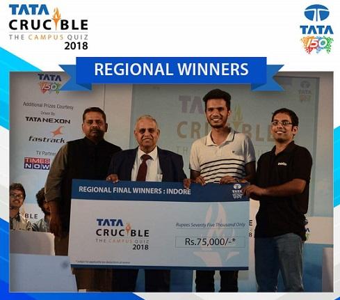 Two Teams of IIM Indore win Tata Crucible—The Business Quiz