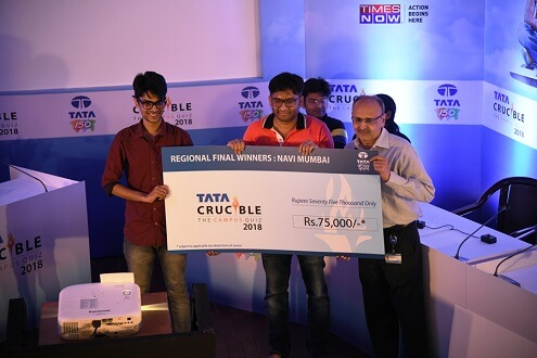IIM Indore Mumbai Campus Students Win Tata Crucible