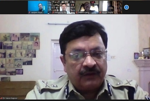 Webinar on Cyber Security Held at IIM Indore