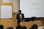 Mr. Vetri Subramanian, CIO, Invesco Mutual Funds Visits IIM Indore