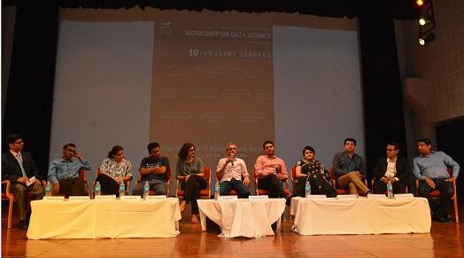 Workshop on Data Science Held at IIM Indore - भारतीय