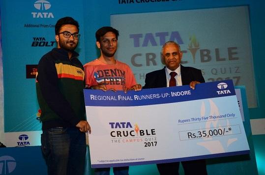 IIM Indore Teams Win Regional Round of TATA Crucible—The