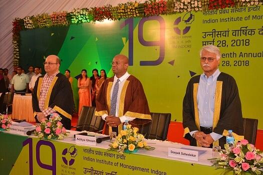 IIM Indore Celebrates 19th Annual Convocation