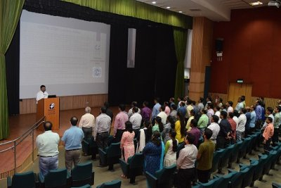 Rashtriya Ekta Diwas Celebrated at IIM Indore